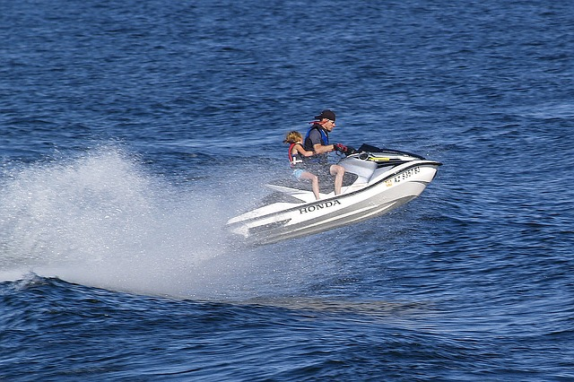 Sea do, wave runner, personal water craft vehicle